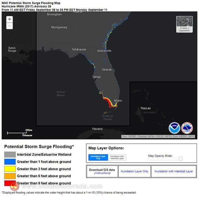 Irma, Huracan, Florida, Estados Unidos, Desastres Naturales